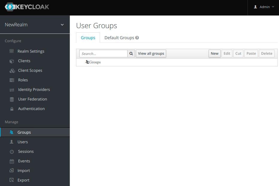 Keycloak setup and integration into Grails web application
